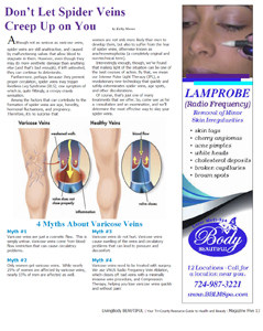 Magazine Article Sclerotherapy
