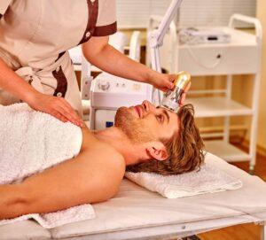 Treating male hair loss
