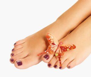 fake toenails